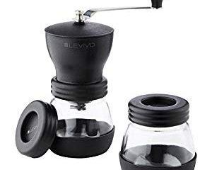 Motta 8150//M Pressino caff/è curvo 58mm con manico legno